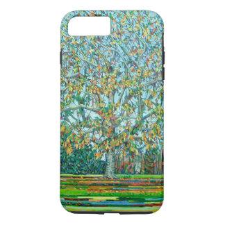 Automne d'arbre d'arc coque iPhone 7 plus