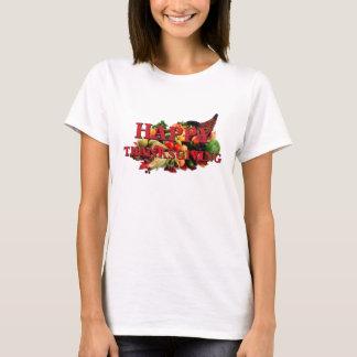Automne de corne d'abondance de récolte d'automne t-shirt