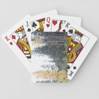 Automne du Colorado dans les Rocheuses Jeux De Cartes