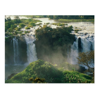 Automnes bleus du Nil Ethiopie Cartes Postales