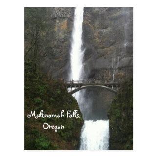 Automnes de Multnomah, Orégon Carte Postale