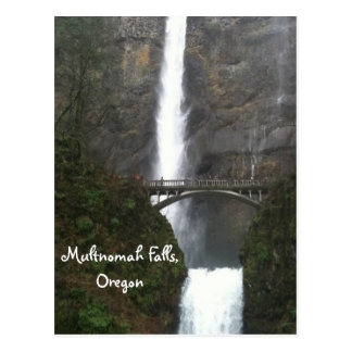 Automnes de Multnomah, Orégon Cartes Postales