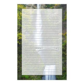 Automnes de Multnomah, Orégon Motifs Pour Papier À Lettre