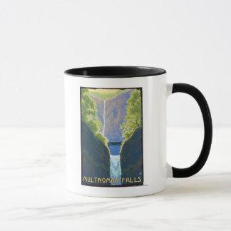 Automnes de Multnomah, OregonMaiden des automnes Mug