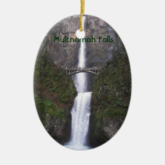 Automnes de Multnomah, ornement en céramique de