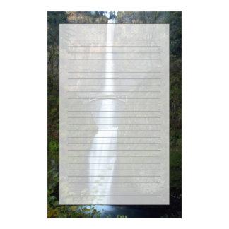 Automnes de Multnomah Papier À Lettre Personnalisé