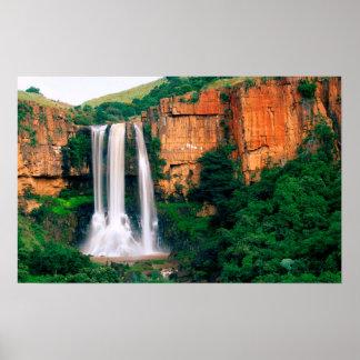 Automnes de rivière d'élands, Mpumalanga, Afrique Posters