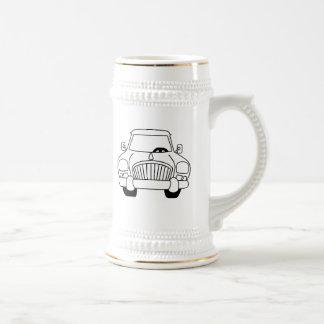 Automobile vintage tasse à café