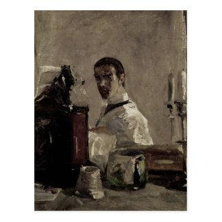 Autoportrait, 1880 carte postale