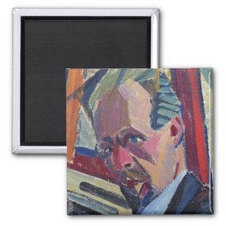 Autoportrait, 1913 magnet carré