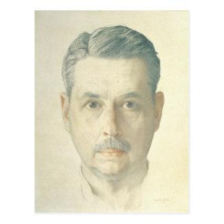 Autoportrait, 1921 carte postale