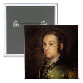 Autoportrait avec des verres, 1788-98 pin's