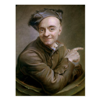 Autoportrait avec la boudine 1737 carte postale
