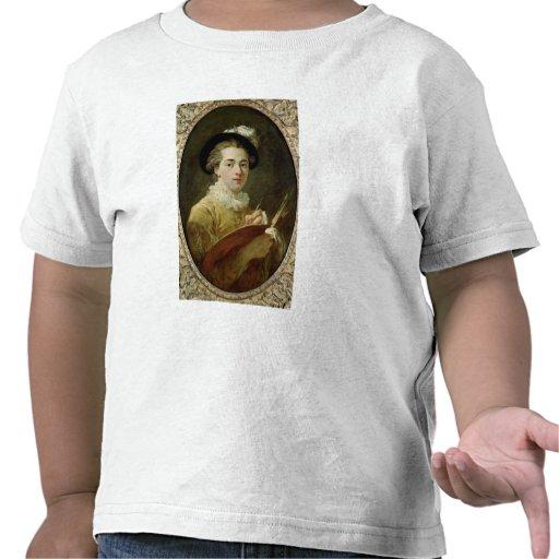 Autoportrait avec la palette t-shirts