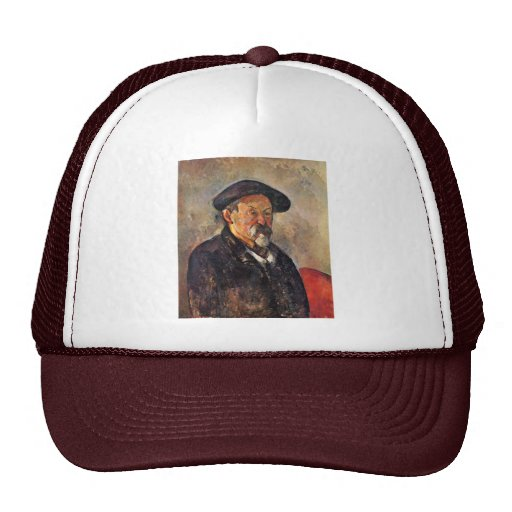 Autoportrait avec le béret par Paul Cézanne Casquette De Camionneur