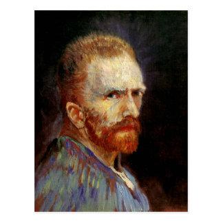 Autoportrait, beaux-arts de Vincent van Gogh Cartes Postales