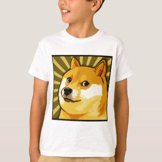 Autoportrait carré de doge de Meme de doge T-shirt