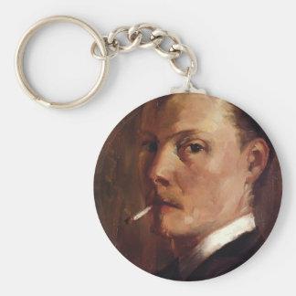 Autoportrait de Croix de Henri-Edmond avec la ciga Porte-clefs