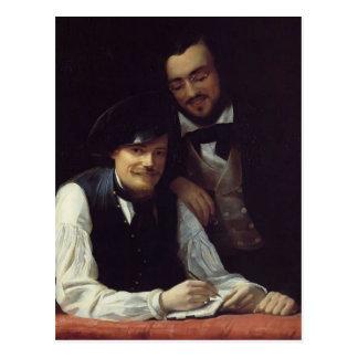 Autoportrait de Franz Winterhalter- de l'artiste Cartes Postales