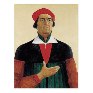 Autoportrait de Kazimir Malevich- Cartes Postales