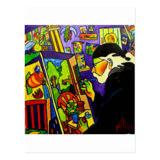 Autoportrait de PILIERO Cartes Postales