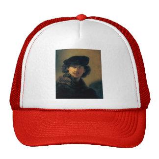 Autoportrait de Rembrandt avec le béret Casquettes De Camionneur