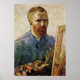 Autoportrait de Vincent van Gogh, post Poster