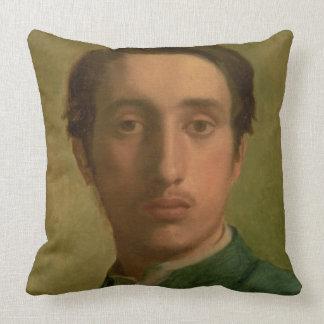Autoportrait d'Edgar Degas | Coussins Carrés