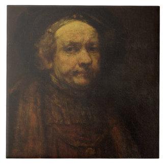Autoportrait en tant que vieil homme, c.1664 (huil grand carreau carré