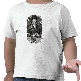 Autoportrait, gravé par J. Corner (gravure) T-shirts