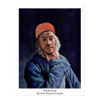 Autoportrait par Jean-Etienne Liotard Cartes Postales