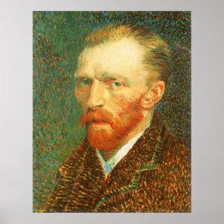 Autoportrait par Vincent van Gogh Posters