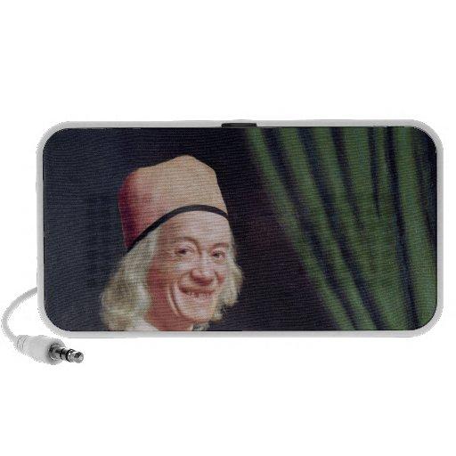 Autoportrait souriant, c.1770-73 haut-parleur ordinateur portable