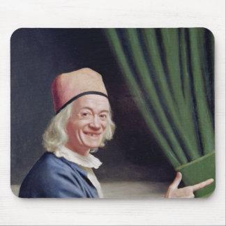 Autoportrait souriant, c.1770-73 tapis de souris