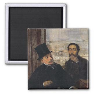 Autoportrait W Evariste de Valernes d'Edgar Degas Aimant