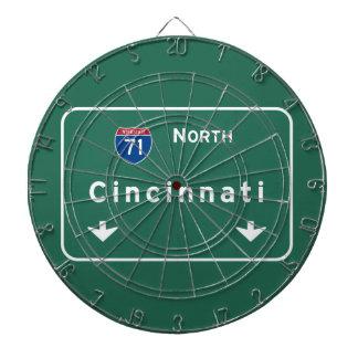 Autoroute d'autoroute nationale de Cincinnati Ohio Jeu De Fléchettes