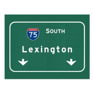 Autoroute d'autoroute nationale de Lexington Carte Postale