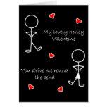 Autour de la courbure Valentine Cartes De Vœux