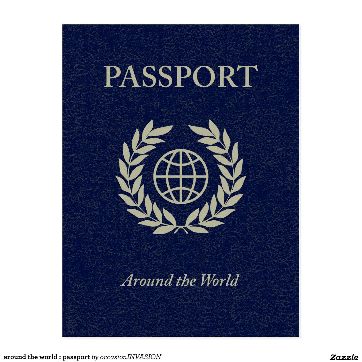 autour du monde passeport carte postale r8a3cadbc2819450490d60299582ba846 vgbaq 8byvr. Black Bedroom Furniture Sets. Home Design Ideas
