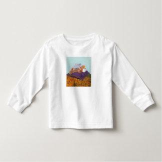 """""""Autour T-shirt de douille d'enfant en bas âge du"""