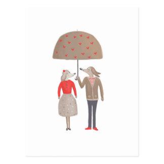 Autre qu'un couple habituel cartes postales