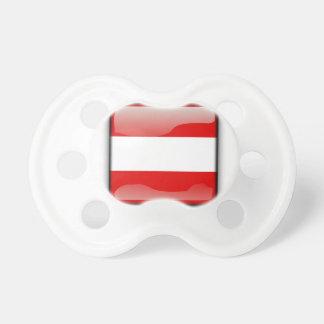 Autriche | Austria Sucette Pour Bébé