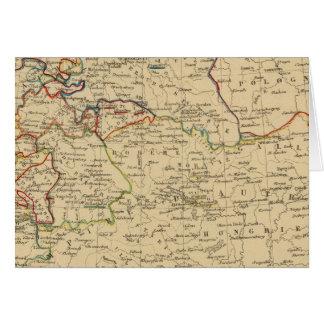 Autriche, Prusse, Confed Germanique, Pologne Carte De Vœux