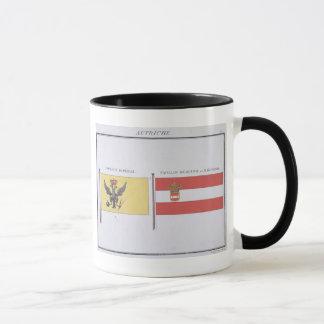 Autrichien diminue, d'un livre français des mug