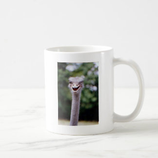 Autruche clignant de l'oeil - drôle mug