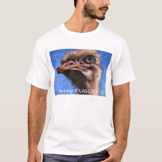 Autruche sentant le T-shirt de Fugley