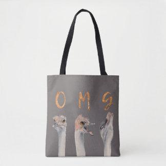 Autruches d'OMG Tote Bag