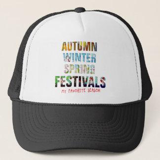 Autumn les hivers sauter festivals ! casquette trucker