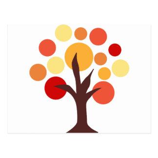AutumnTree1 Cartes Postales