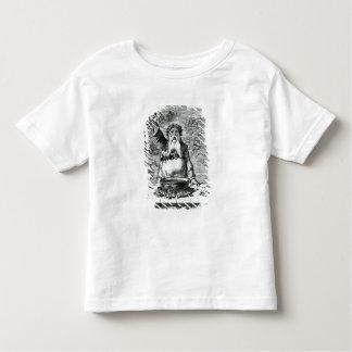 Aux amis absents ! t-shirt pour les tous petits